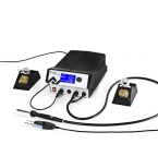 I-CON VARIO 2, electronically temperature-controlled multichannel soldering and desoldering station, 350 W